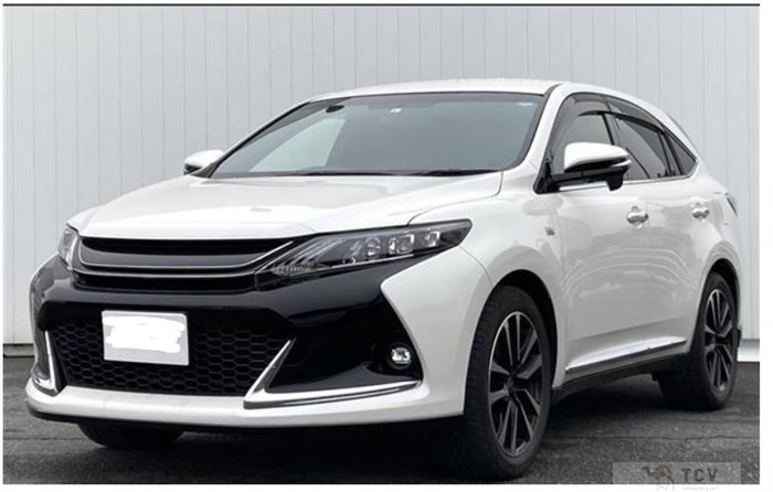2017 Toyota Harrier ZSU60W ELEGANCE 2WD Gs HULF LEATHER SEATS